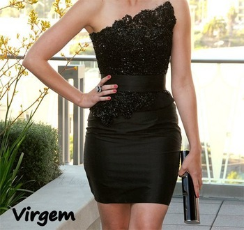 Aliexpress.com : Buy Black dress virgem from Reliable black and red dress suppliers on Secret Time
