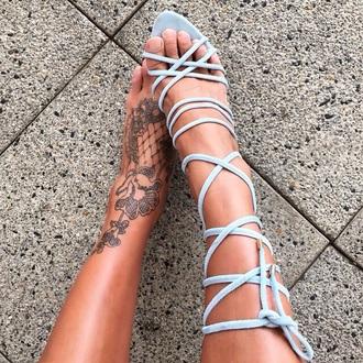 shoes blue shoes