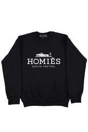 sweater,south central,homies,homies sweatshirt,homies black t shirt,ballenciaga paris,blouse,shirt,black,white,ballinciaga harlem,ballin london,avenue