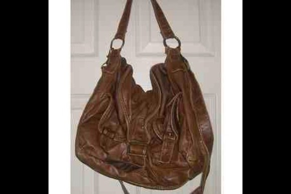 bag brown leather