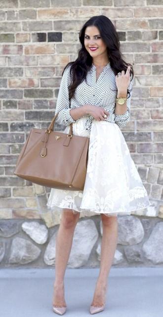 skirt polka dots summer outfits sexy cute circle skirt