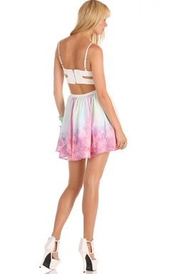 SPARKLY PINK GALAXY DRESS on The Hunt
