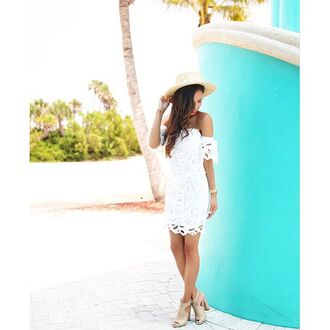 dress spring spring outfits summer summer outfits summer dress white white lace white lace dress lace dress white dress sexy dress sexy bodycon bodycon dress sweetheart dress off the shoulder open back open back dresses floral floral lace white floral lace short fitted dresses short dress sexy short dresses