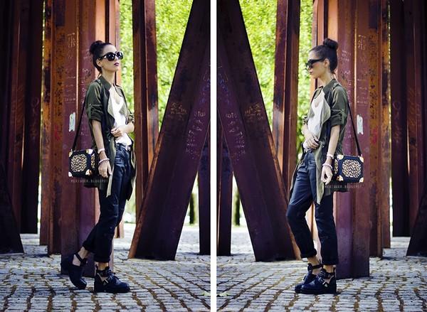 mexiquer jacket sunglasses t-shirt bag pants shoes