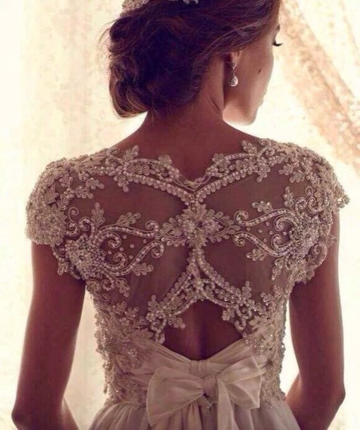 dress lace dress white wedding dress