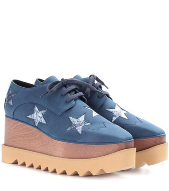 Stella McCartney shoes blue