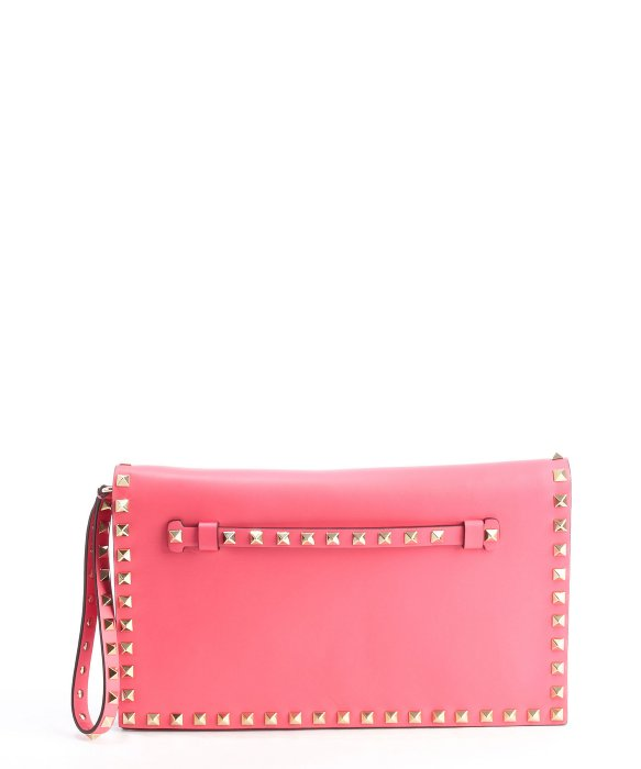 Valentino fuchsia leather