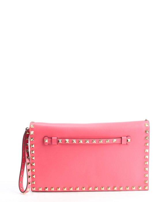 Valentino fuchsia leather
