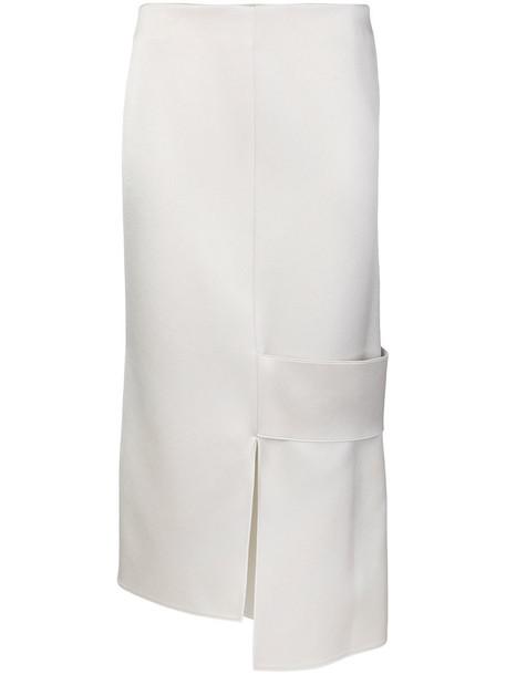 Victoria Beckham skirt women white satin