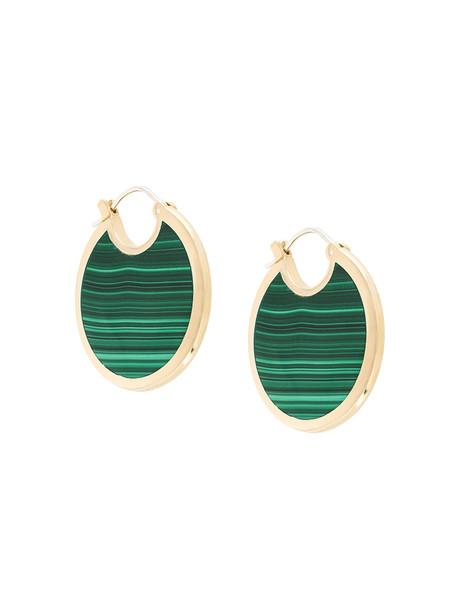 Pamela Love women earrings green jewels