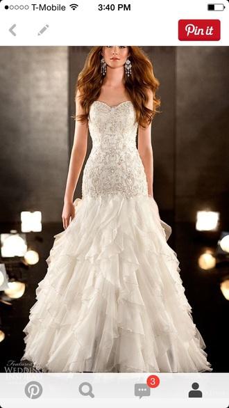 dress wedding dress mermaid prom dress mermaid wedding dress white dress