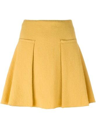 skirt texture yellow orange
