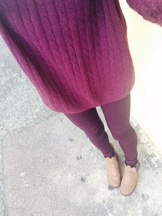 sweater baggy sweaters burgundy sweater jeans