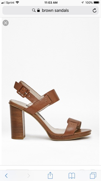 shoes tan brown sandals leather