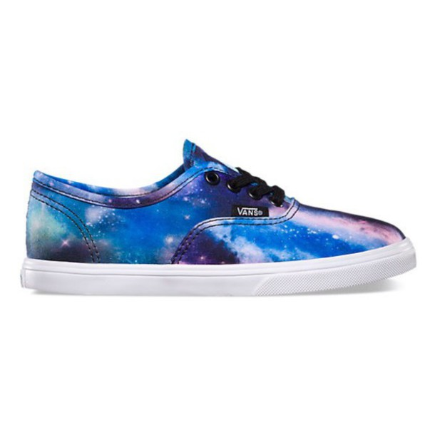 shoes vans galaxy shoes
