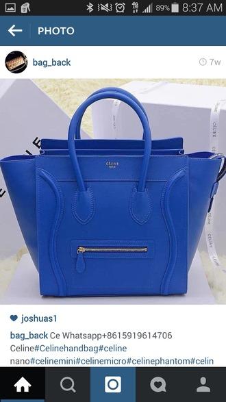 bag blue bag cute purse