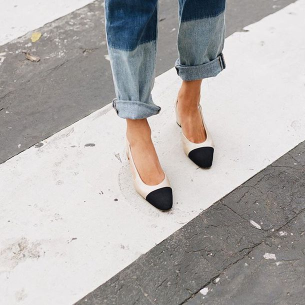 shoes tumblr chanel slingbacks chanel shoes chanel slingbacks mid heel  sandals