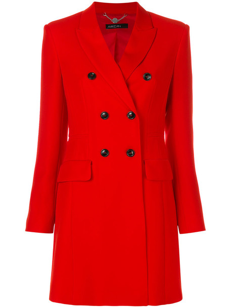 Marc Cain coat women spandex red