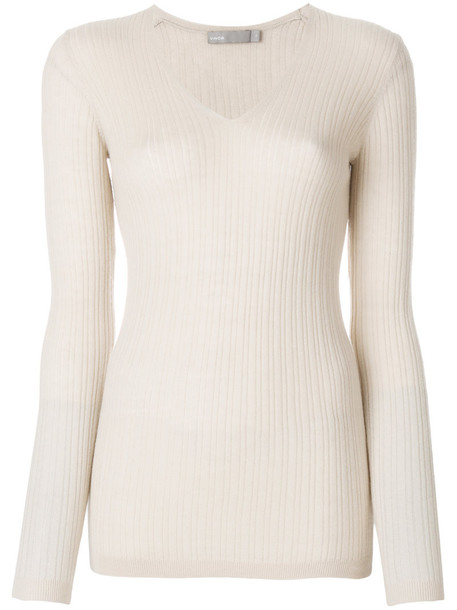 Vince jumper cashmere jumper women nude sweater
