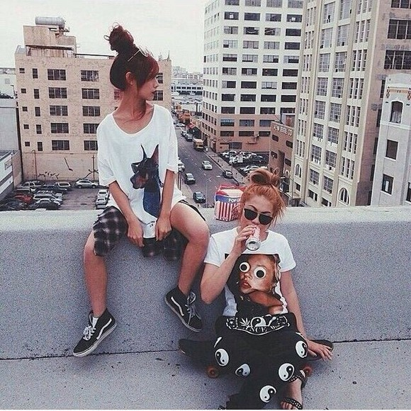 flannel shirt sunglasses og fashion dope trill hippie yin yang trill fashion dope fashion t-shirt sneakers sandals urban clothing