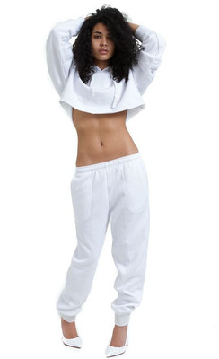 White Sweat Suit