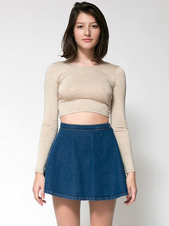 American Apparel - Denim Circle Skirt