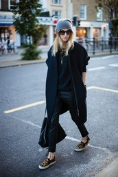 camille over the rainbow,coat,sweater,pants,bag,sunglasses,jewels