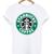 Starbuck Coffe Logo T-shirt