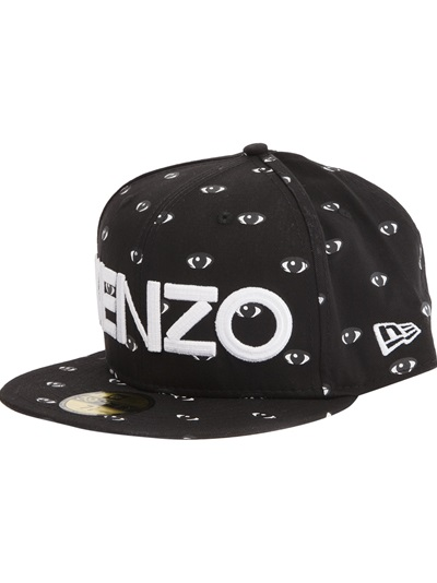 Kenzo Eye Print Logo Cap -  - Farfetch.com