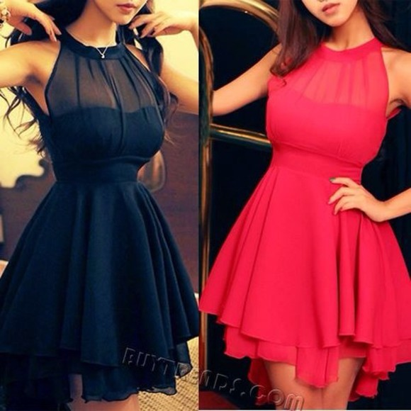 dress halter dress sheer