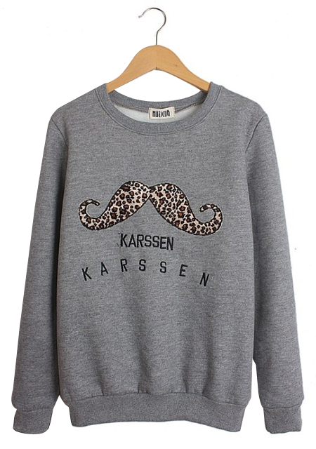 Women's new fashion leopard print embroidery round