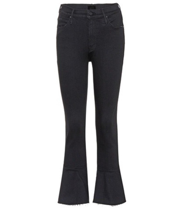 Mother Cha Cha Fray jeans in black