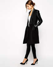 coat,tailored coat,trendy,slim fit,fall outfits,fashion outfit,black outfit
