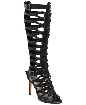 Vince Camuto Omera Tall Gladiator Heel Sandals - Shoes - Macy's
