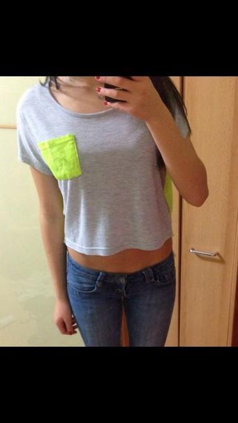 shirt t-shirt neon