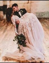 dress,blush pink floral wedding dressss