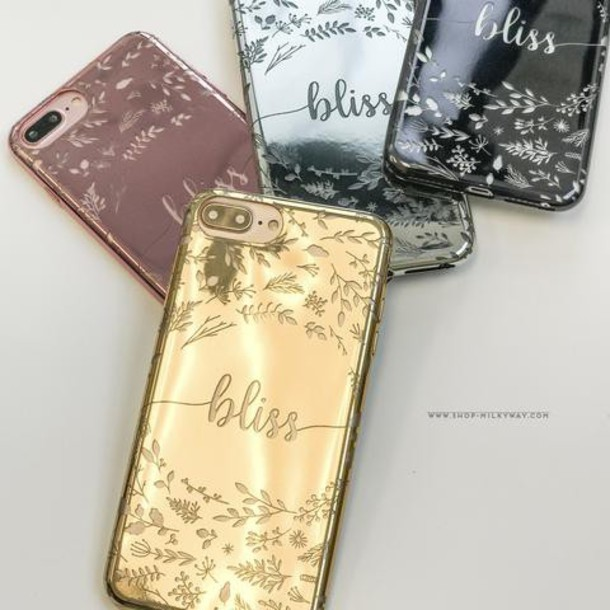 Milkyway Cases CHROME TPU CASE - BLISS in gold