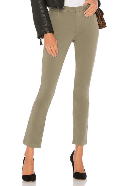 J BRAND green pants