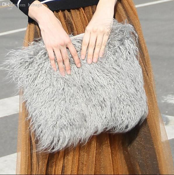 220 Sondra Roberts Fur Clutch bag available at amazon.com - Wheretoget c7b0d9ad612bc