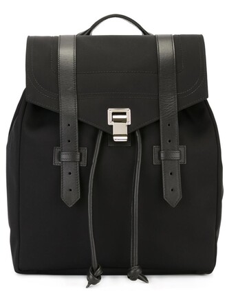 backpack black bag