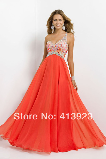 Aliexpress.com : Buy Long Prom Dresses 2014 New Beaded Sweetheart Sleeveless A Line Lace up Floor Length Stock Size from Reliable dress skater suppliers on Chaozhou City Xin Aojia dress Factory