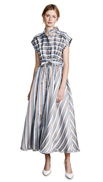 ROSSELLA JARDINI dress midi dress midi stripes