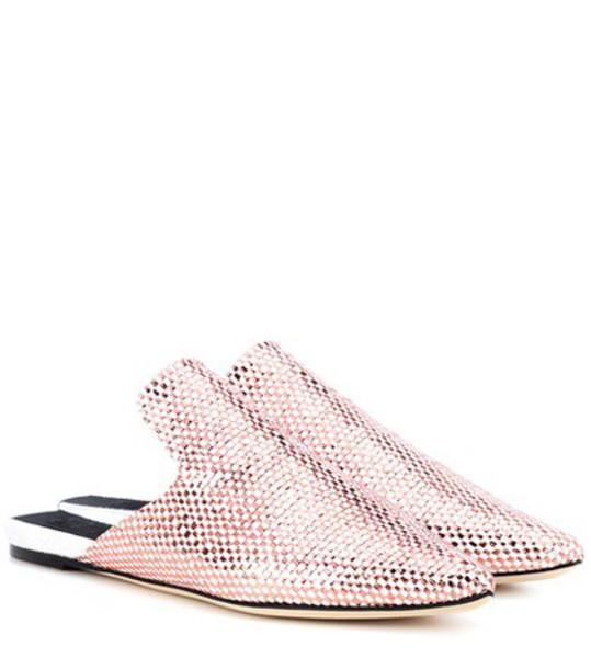 Sanayi 313 Bozza slippers in metallic