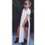 Kiesha Spliced Side Cut Long T-shirt (2 colors available) – Glamzelle