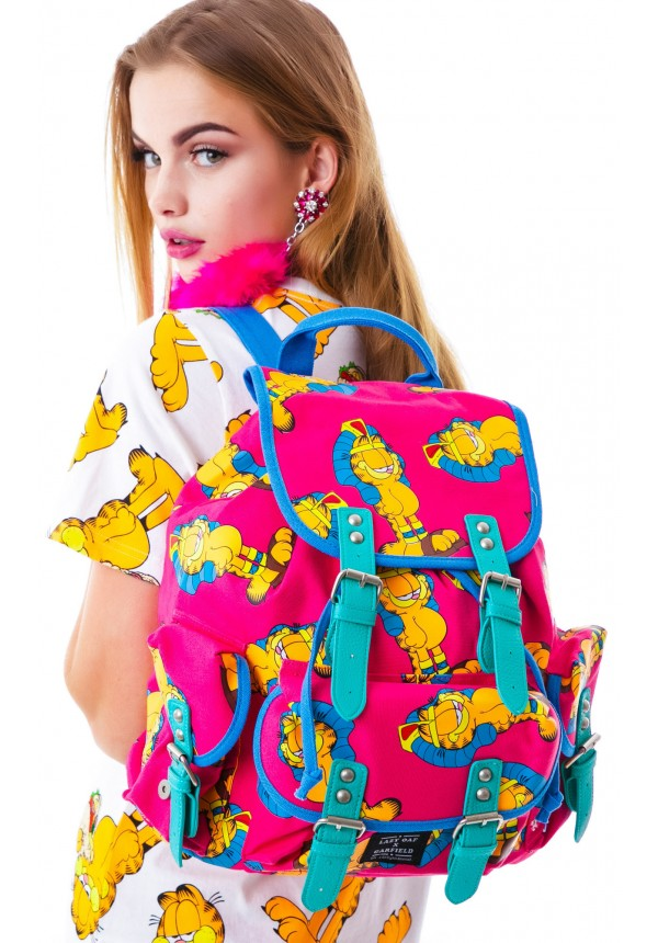 Lazy Oaf  x Garfield Buckle Bag  | Dolls Kill