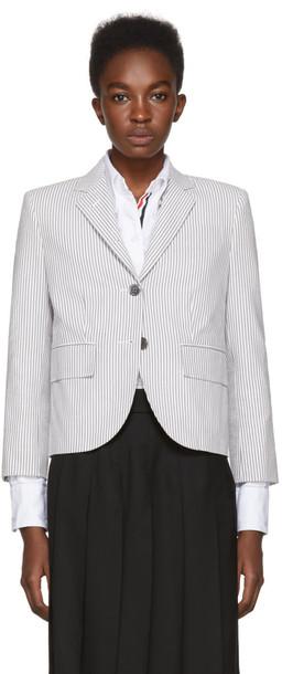 Thom Browne blazer classic grey jacket