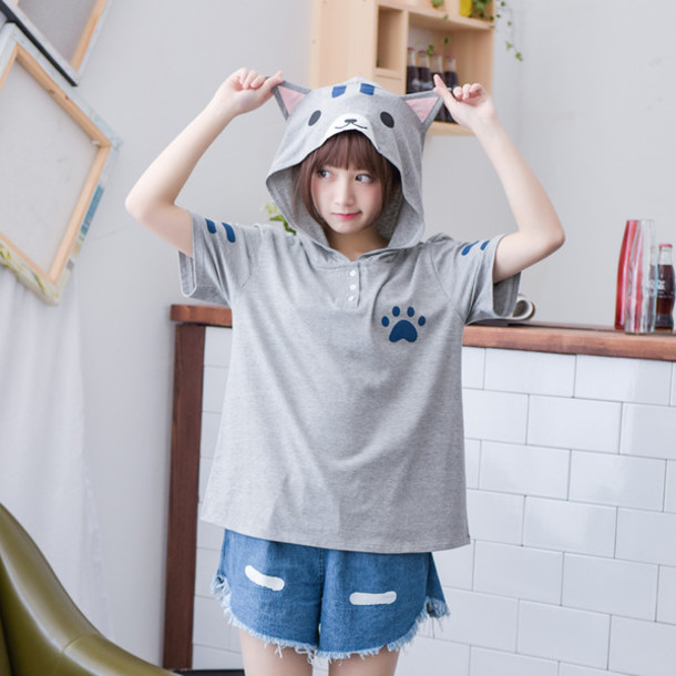 Top Cats Cosplay Kawaii Anime Anime Tee Anime Shirt Anime T