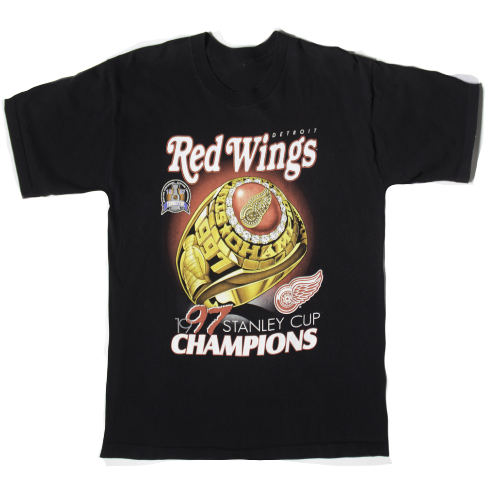 Red Wings 97 Stanley Cup T Shirt