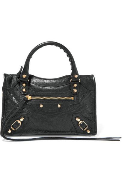 Balenciaga mini classic leather black bag