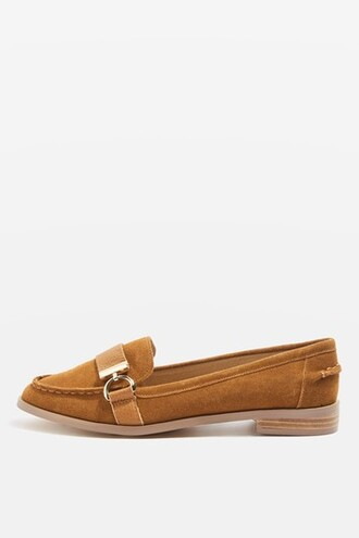 tan loafers shoes